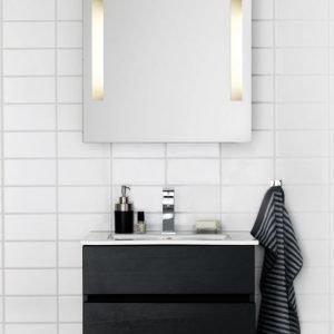 Kalusteryhmä Hafa East 600 allaskaappi + peili musta