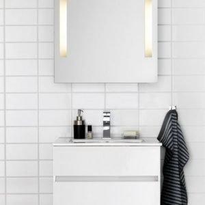 Kalusteryhmä Hafa East 600 allaskaappi + peili valkoinen
