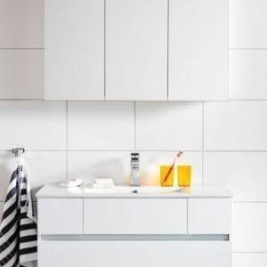 Kalusteryhmä Hafa East 900 allaskaappi + peilikaappi valkoinen