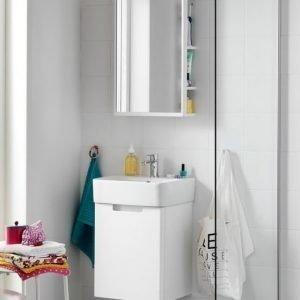 Kalusteryhmä Hafa One 440 allaskaappi + allas + peili valkoinen matta