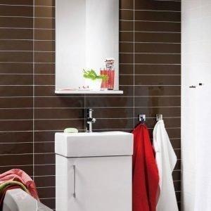 Kalusteryhmä Hafa Solo 420 allaskaappi + peili valkoinen