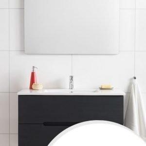 Kalusteryhmä Hafa Sun 600 allaskaappi + allas + peili valkoinen matta
