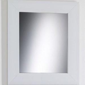Kehyspeili Lars leveä valkoinen 660x760 mm