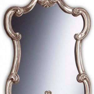 Kehyspeili Romantica hopea 039B 610x900 mm kohokuviolla