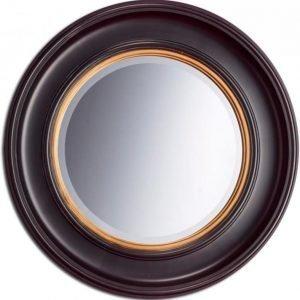 Kehyspeili Romantica musta 22318 Ø 680 mm