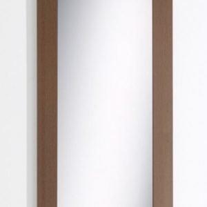 Kehyspeili leveä pähkinä 600x1400 mm