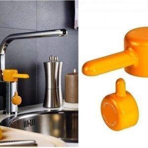 Keittiöhanan vipu Gustavsberg Logic oranssi apk-venttiili