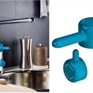 Keittiöhanan vipu Gustavsberg Logic sininen apk-venttiili
