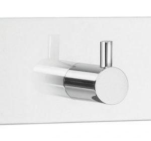 Kolmoiskoukku Smedbo B design 1107 tarrakiinnitteinen