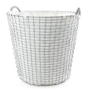 Korbo Pyykkipussi Valkoinen 65 L