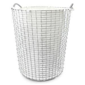 Korbo Pyykkipussi Valkoinen 80 L