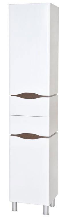 Korkea kaappi Aquarodos Venezia valkoinen 400x335x1950mm
