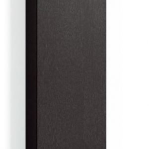 Korkea kaappi Forma 172x40x20 cm integroitu vedin 6 musta tammi