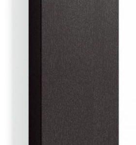 Korkea kaappi Forma 172x40x20 cm musta tammi