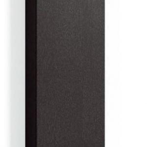 Korkea kaappi Forma 172x40x35 cm integroitu vedin 6 musta tammi