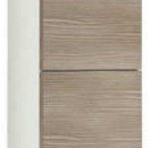 Korkea kaappi Gustavsberg Logic 1870 Woody Grey 300x160x1700 mm