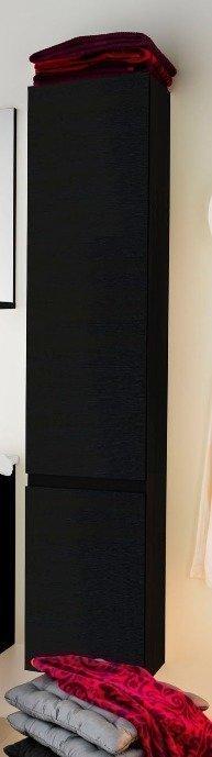 Korkea kaappi Motion Square 350x260x1695 mm musta vaneri