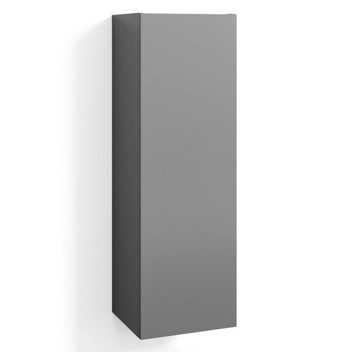 Korkea kaappi Svedbergs Classic/Forma/Stil 40x122x35 cm matala malli harmaa