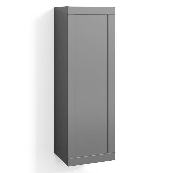 Korkea kaappi Svedbergs Stil 40x123cm harmaa kehys