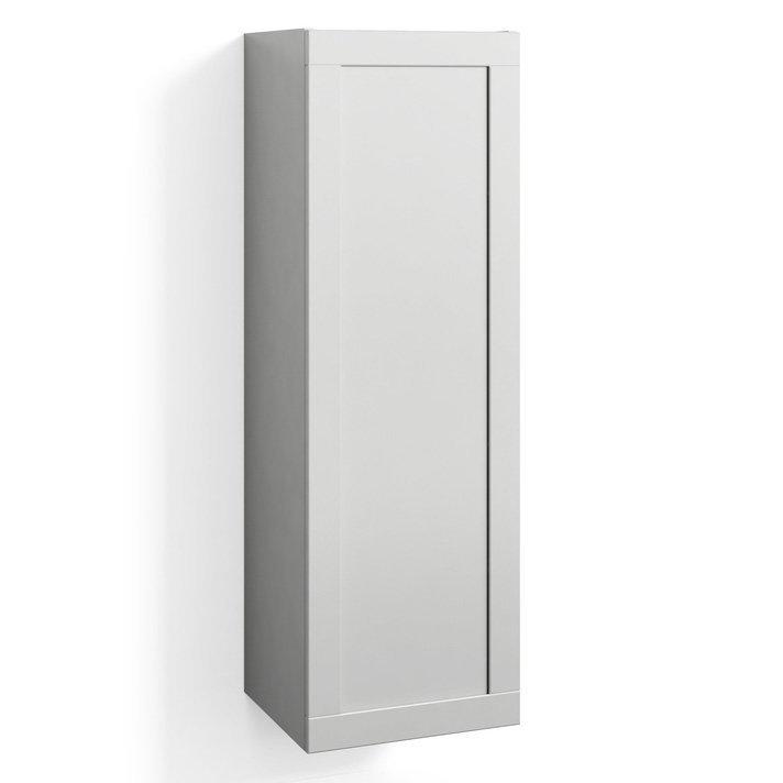 Korkea kaappi Svedbergs Stil 40x123cm valkoinen kehys