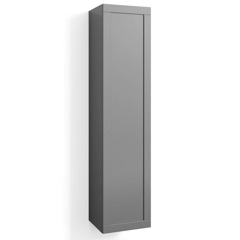 Korkea kaappi Svedbergs Stil 40x172cm harmaa kehys