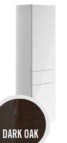 Korkea kaappi Villeroy & Boch Aveo new generation A848 400x1530x350 mm sarana oikealla Dark Oak