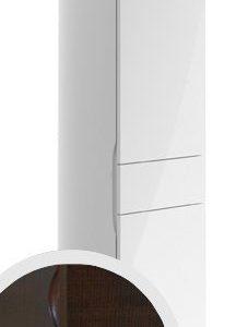 Korkea kaappi Villeroy & Boch Aveo new generation A848 400x1530x350 mm sarana vasemmalla Dark Oak