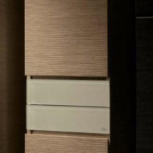 Korkea kaappi Villeroy & Boch Memento C266 400x1640x350 mm sarana oikealla Bright Oak