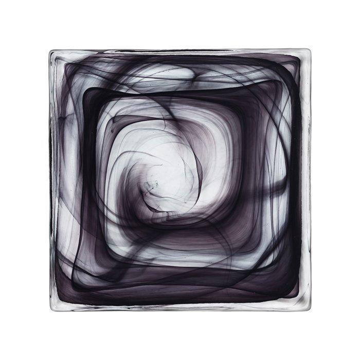 Kosta Boda Dekorkakel Cirrus Black
