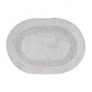 Kotikulta Kylpyhuonematto 50x70 Cm Ovaali Vaaleanharmaa