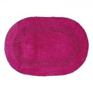 Kotikulta Kylpyhuonematto 50x70cm Ovaali Pinkki