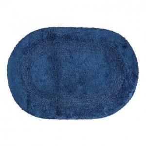 Kotikulta Kylpyhuonematto 50x70cm Ovaali Tummansininen