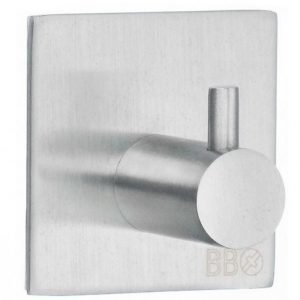 Koukku Smedbo B design 1105 tarrakiinnitteinen harjattu
