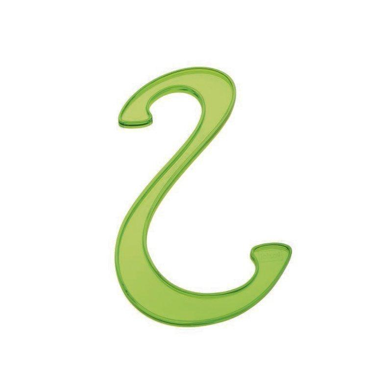 Koziol Hook S-Koukku Setti 2 Kpl Oliivinvihreä