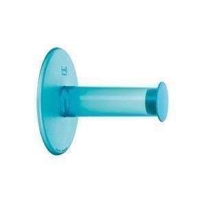 Koziol Plug N Roll Wc-Paperinpidike Turkoosi