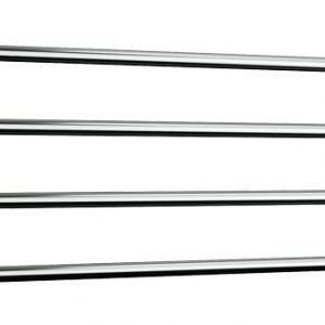 Kuivausteline Rej Design Largo EH 120404 75W sähkö kromi tai valkoinen o/y v/y