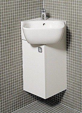 Kulma-alakaappi IDO Seven D 300x500x300 mm vasen valkoinen