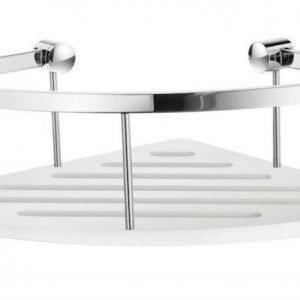Kulmakori Smedbo Sideline design 250x113 valkoinen pohjalevy