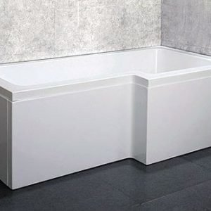 Kylpyamme Bathlife Behag 1675 1680x855/705mm 180l