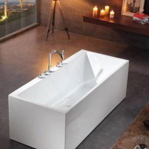 Kylpyamme Bathlife Ideal Form 1600 mm valkoinen