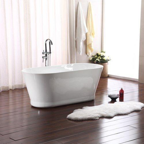 Kylpyamme Bathlife Ideal Retro 1590 mm valkoinen