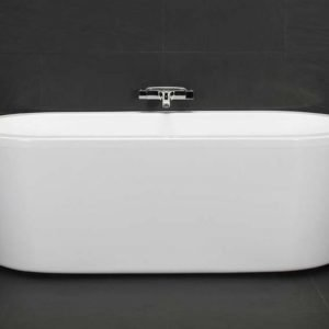 Kylpyamme Deep R 1600 740x1565 mm akryyli valkoinen