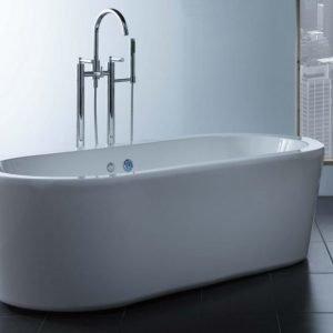 Kylpyamme Deep R 1800 800x1765 mm akryyli valkoinen