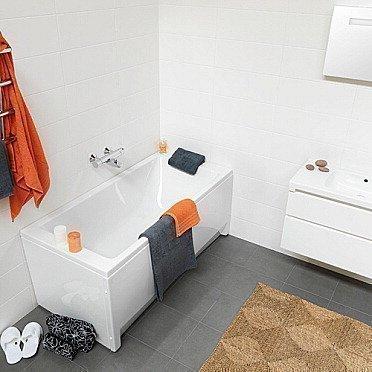 Kylpyamme IDO Seven D 1500 akryyli suorakulma valkoinen