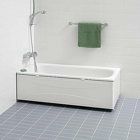 Kylpyamme IDO Trevi 1500 emali valkoinen