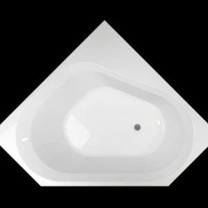 Kylpyamme Motion 140 C akryyli valkoinen