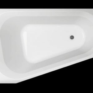 Kylpyamme Motion 160 R akryyli valkoinen