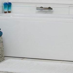 Kylpyamme Noro Cubic 160 1600x700x630 mm oikea akryyli valkoinen