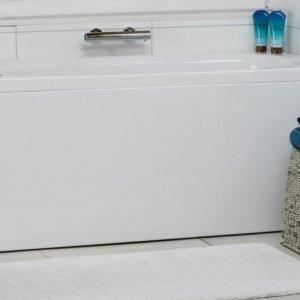 Kylpyamme Noro Cubic 160 1600x700x630 mm vasen akryyli valkoinen