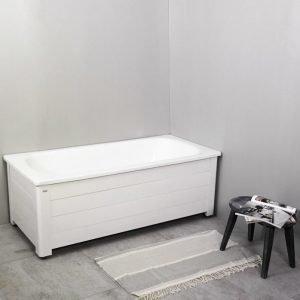 Kylpyamme Noro Fix 1600 emali täysimittaisella levyllä